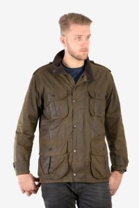 Vintage Barbour Trooper A995 wax jacket