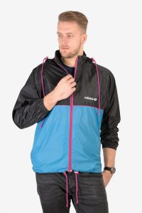 Retro vintage Adidas windbreaker jacket