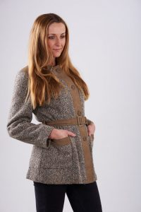 vintage 1970's rite-wear tweed jacket