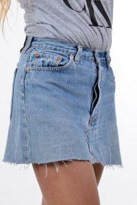 Vintage Levi's 501 mini skirt