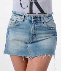 Vintage Levi denim mini skirt