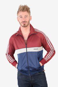 Vintage Adidas West German track jacket
