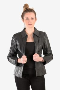 Women's 1970's leather jacket