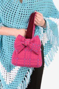 Vintage Welsh Woollens handbag