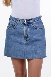 Vintage Levi high waisted denim mini skirt