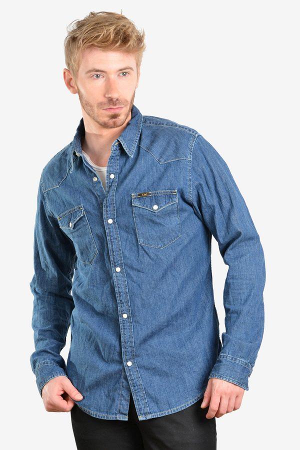Vintage Lee denim western shirt