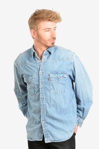 Vintage Levi's denim western shirt