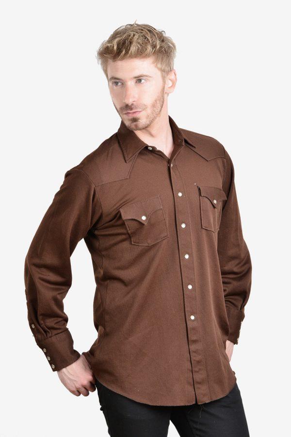 Vintage 1970's H Bar C western shirt