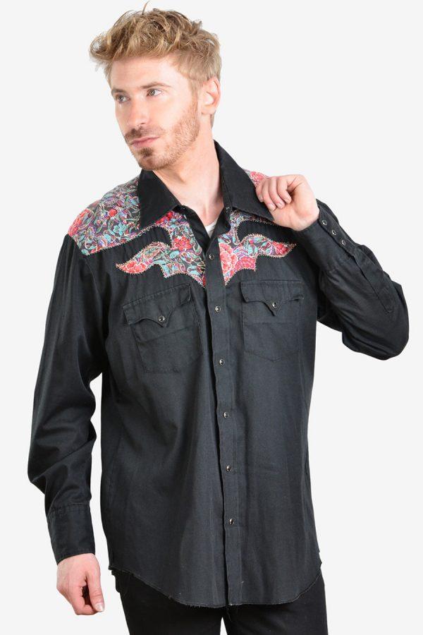 .Vintage 1970's Karman western shirt