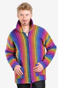 Vintage men's wool cardigan