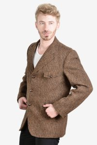 Vintage 1960's Harris Tweed jacket