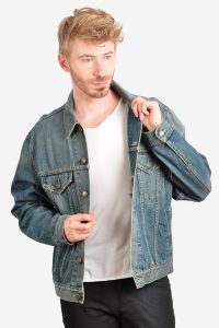 Vintage Levi's 70550 denim trucker jacket