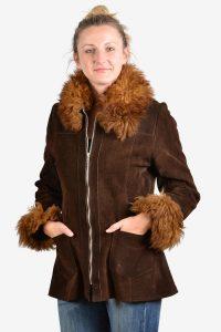 Vintage 1970's women's suede jacket