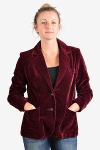 Vintage 1970's women's velvet jacket