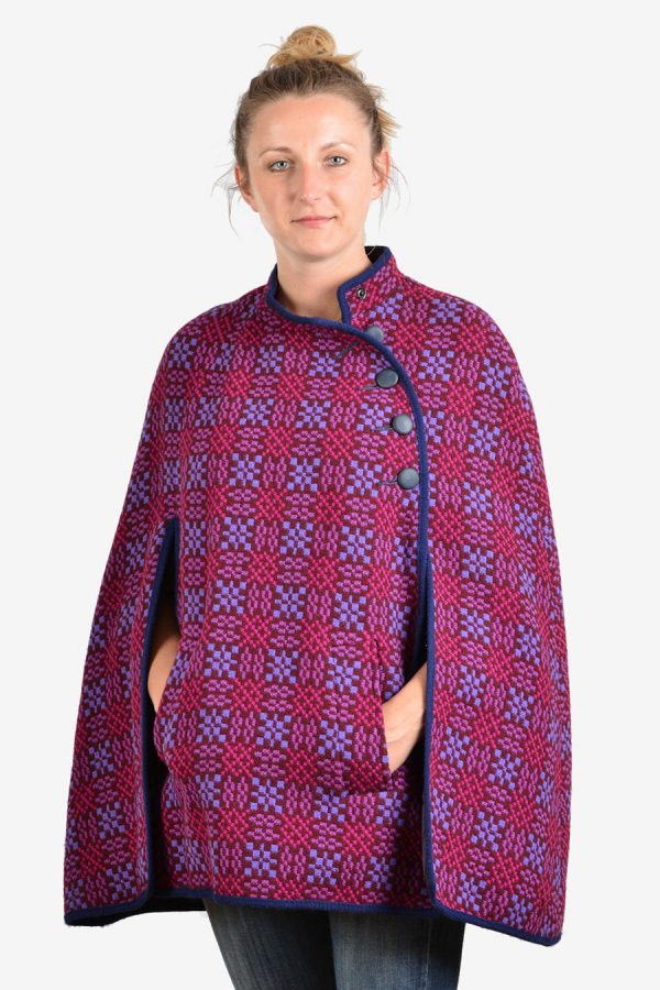 Welsh Woollens cape