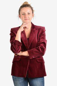 Vintage women's velvet jacket