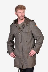 Vintage 1980's German military parka