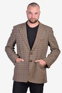 Vintage 1960's dogtooth tweed jacket