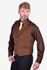 Vintage double breasted waistcoat