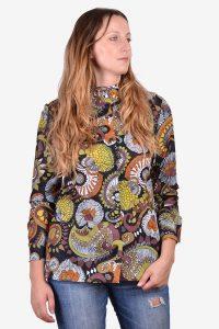 Vintage 1970's collarless shirt