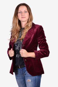 Vintage women's velvet jacket f