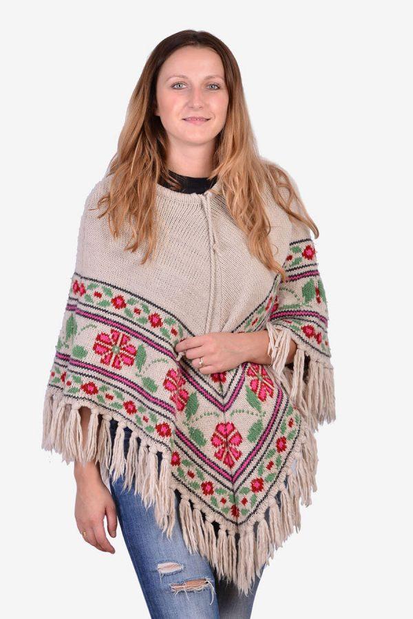 Vintage women's poncho