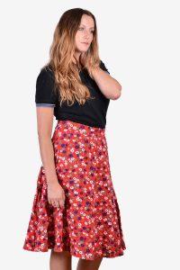 Vintage 1960's floral skirt
