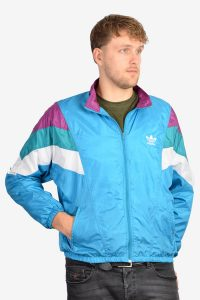 1980's Adidas shell suit jacket