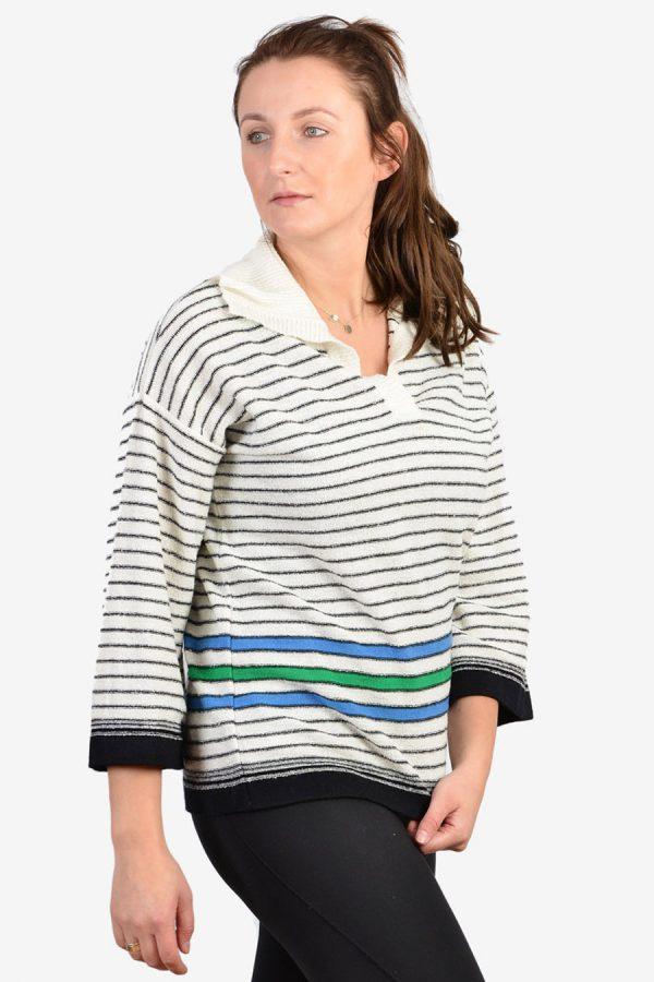 Vintage St Michael striped jumper