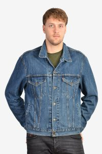 Vintage Levi's 70550 blue denim jacket