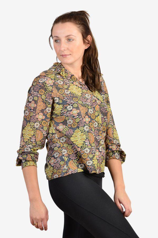 Vintage 1960's floral shirt