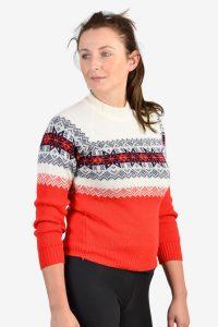 Vintage women's snowflake sweater