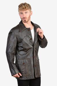 Vintage Donnie Brasco leather jacket