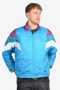 Retro Adidas shell suit jacket
