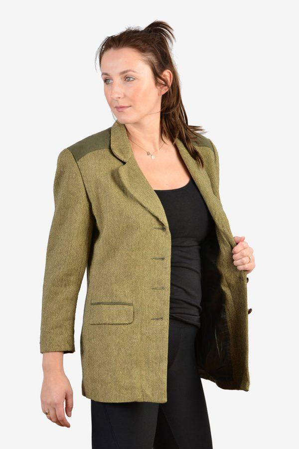 Vintage women's tweed jacket