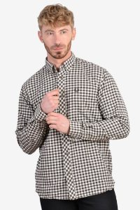 Vintage Fred Perry check flannel shirt