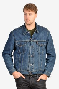 Vintage Levi 70550 blue denim jacket