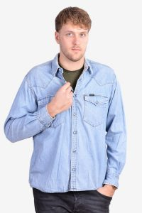 Vintage 1960's Lee sanforized denim shirt