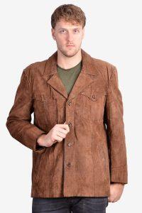 Vintage 1970's suede jacket