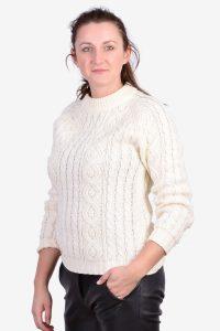 Women's vintage Aran jumper