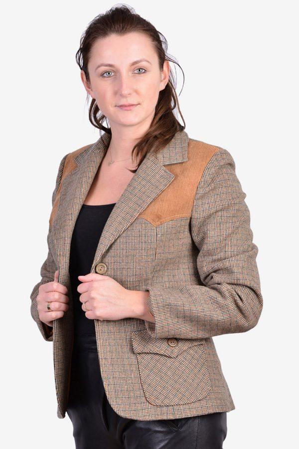Vintage 1970's women's tweed jacket