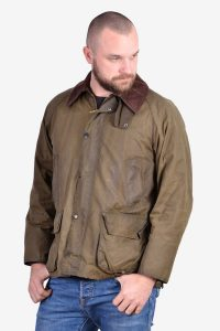 Vintage Barbour Bedale wax jacket