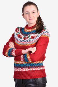 Women's vintage Icelandic jumper
