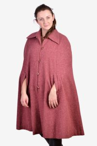 Vintage wool cape