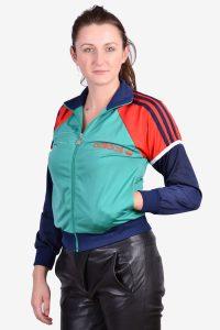 Women's retro Adidas track jacket