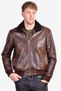 Vintage A1 type leather jacket