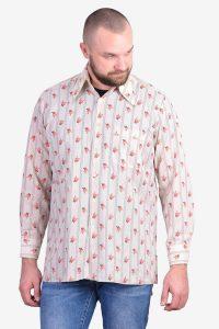 Vintage 1970'a floral shirt