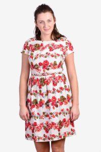 Vintage 1950 floral dress