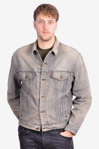 Vintage Levi's grey denim jacket