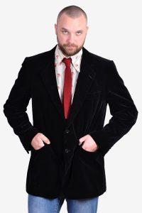 Vintage 1970's velvet jacket